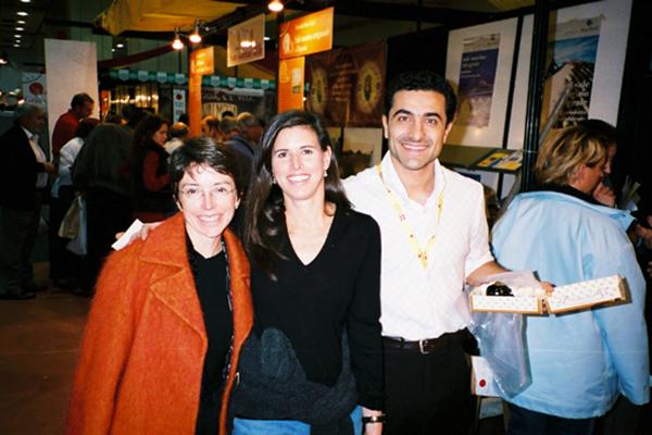 2002 Guido socio dell'acetaia La Tradizione presenre alla Firìera di New York