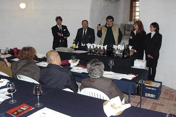 2007 Sarzana degustazione ndi ABTM nella Fortezza