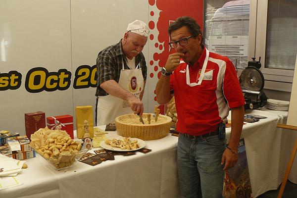 2011 Mugello Workshop Ferrari degustazione