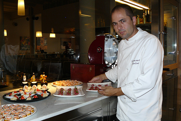 2007 Genova chef Francesco Merlino piatti al ABTM