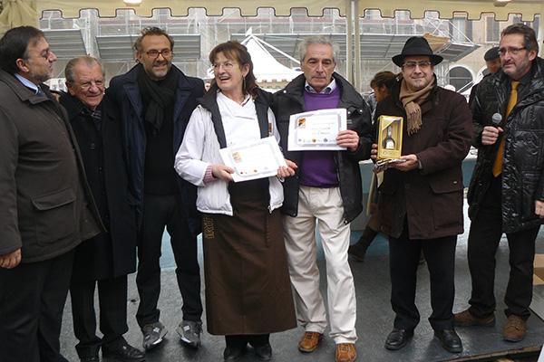 2011 Gara cioccalato con Balsamico Tradizionale DOP Assesore Tomei- Prof.Saccani- Chef Massimo Bottura